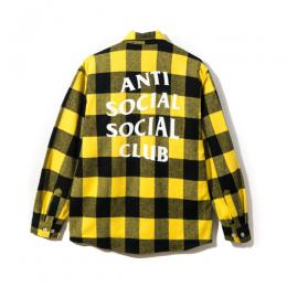 Anti Social Social Club Canal St. Flannel