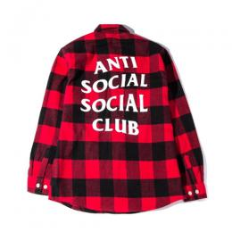 Anti Social Social Club No Expectations Flannel