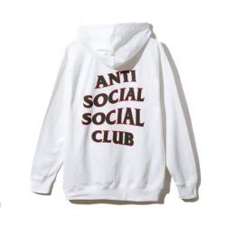Anti Social Social Club Rodeo Dr. White Hoodie
