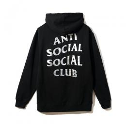 Anti Social Social Club Sin City Black Hoodie