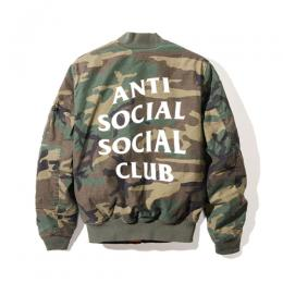 Anti Social Social Club SR22 CAMO MA-1 Jacket