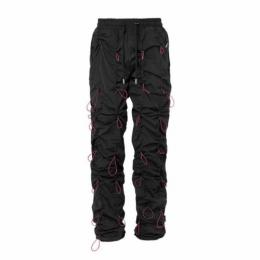 URKOOL BUNGEE PANTS - BLACK Red-color Bungee Cord