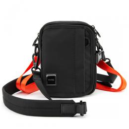 M+RC NOIR BLACK AND ORANGE TRAP BAG