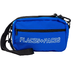 PLACES+FACES Cordura Fabric Pouch Bag / BLU
