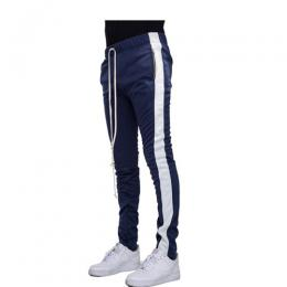 EPTM ZIPPER TRACK PANTS - NAVY/WHITE