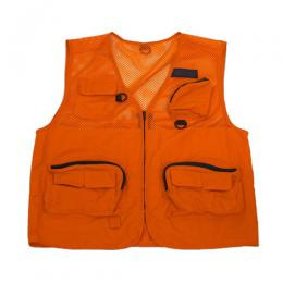 PLACES+FACES ORANGE MESH VEST
