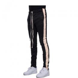 EPTM TRACK PANTS - BLACK/PEACH