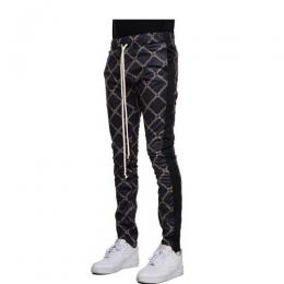 EPTM MONOGRAM TRACK PANTS - BLACK