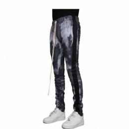 EPTM PSYCHO DYE TRACK PANTS - GREY SMOKE
