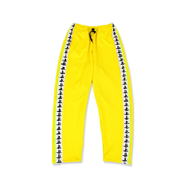 Pretty Boy Gear PLVY NO GVME TRACK PANTS / YELLOW