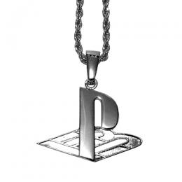 Pretty Boy Gear PLVY NO GVME Necklace / Silver