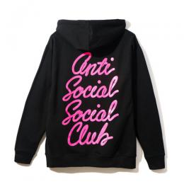 Anti Social Social Club Options Black Hoodie