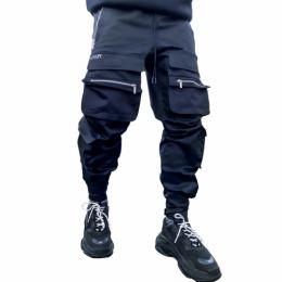 Guapi Clothing OBSIDIAN BLACK TACTICAL CARGO PANT