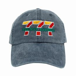 CRUWELF 777 POSITIVE THUGGIN HAT / 6 Panel Cap