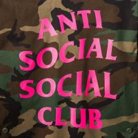 Anti Social Social Club Never Change BDU