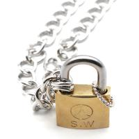 Trendywoobi Lock / key necklace