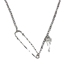 Trendywoobi Pin & Key Necklace