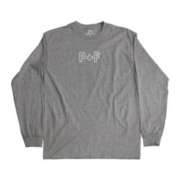 PLACES+FACES P+F LONG SLEEVE / GREY