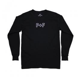 PLACES+FACES P+F LONG SLEEVE / BLACK