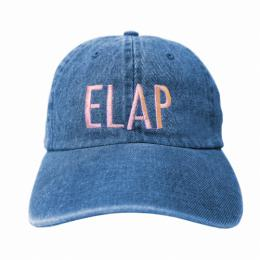 ELAP LOGO CAP LIGHT BLUE DENIM / 6 Panel Cap