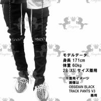 Guapi Clothing SHARK GREY REFLECTIVE TRACK PANTS