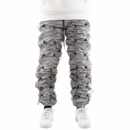 EPTM ACCORDION PANTS - SIVER/BLACK