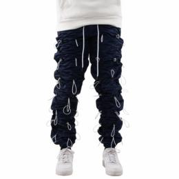 EPTM ACCORDION PANTS - NAVY/WHITE