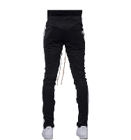 EPTM TRACK PANTS - BLACK/WHITE