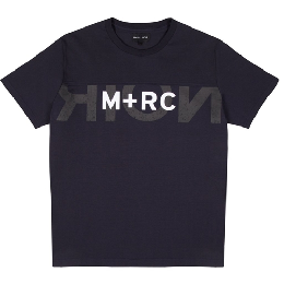"M+RC NOIR ""BIG LOGO"" MIDNIGHT BLUE Tee"