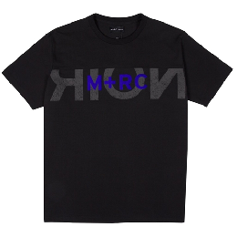 "M+RC NOIR ""BIG LOGO"" BLACK Tee"
