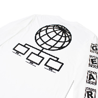 Pretty Boy Gear PLVY NO GVME T-shirt L/S (white)
