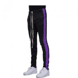 EPTM TRACK PANTS - BLACK/PURPLE