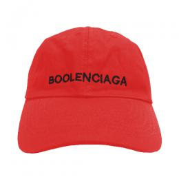 VETEMEMES Boolenciaga Cap / Red
