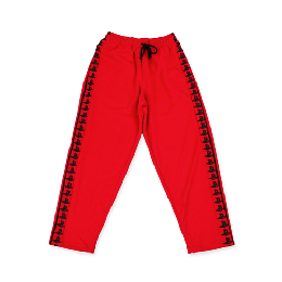 Pretty Boy Gear PLVY NO GVME TRACK PANTS / RED