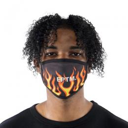 EPTM  FLAME FACE MASK / ORANGE