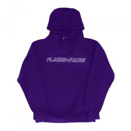 PLACES+FACES P+F Logo Hoodie / PUR