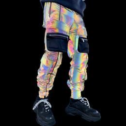 Guapi Clothing RAINBOW REFLECTIVE TACTICAL CARGO