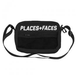 PLACES+FACES P+F REFLECTIVE BAG / BK