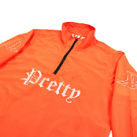 Pretty Boy Gear PRETTY Half Zip Jacket / ORANGE